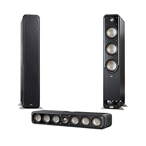 For Sale! Polk Signature Series 3 Channel System with S60 Pair & S35