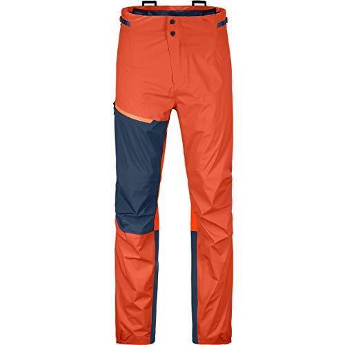ORTOVOX Westalpen 3L Light Pants M Pantalon Homme, Orange désert, XXL