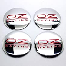 Luck16888 4×56mm OZ O.Z Sports Racing Wheel Center Caps Hub Cap Emblem Badge Sticker Decal