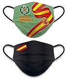 Pack 2 ud. Accesorio Facial Reversible Legion Española. Nivel 3. No homologada. 2-27396