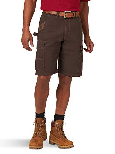 Wrangler Riggs Workwear Men's Ranger Cargo Pant, Dark Brown, 34