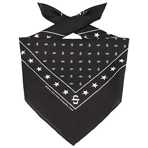 Stetson Pañuelo Bandana Mujer/Hombre - para Cabeza Cinta la Verano/Invierno - Talla única Negro