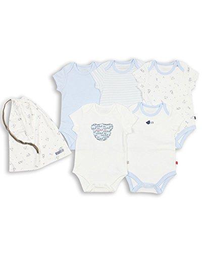 The Essential One - Paquete de 5 Body Bodies para bebé Niños ESS92