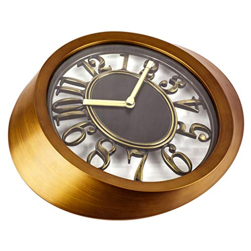 Leileixiao Nostálgico Dormitorio Colgante de Pared Reloj Nude Creativo Sala de Estar vacía Arte de la Personalidad Reloj (12 Pulgadas)