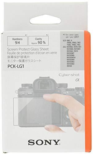 Sony pck-lg1,protezione per schermo in vetro per fotocamera Sony Alpha 9