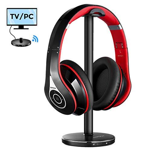 bon comparatif Casque sans fil Mpow pour TV, casque 059 Bluetooth avec support pour casque Bluetooth, casque stéréo… un avis de 2021