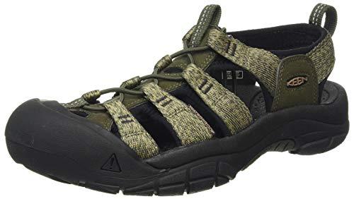KEEN Newport H2 Water Shoe, Sandalia Hombre, Noche del Bosque Negro, 42.5 EU