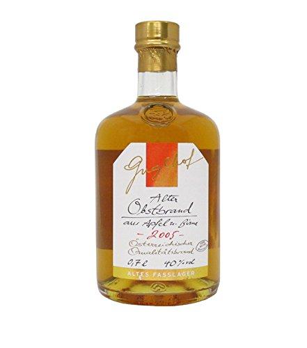 Guglhof: Alter Obst Brand - Jahrgangsbrand / 40% Vol. / 0,7 Liter - Flasche