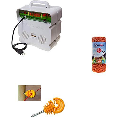Cercas Eléctrica Kit Para Pastor Eléctrico : 1x Electrificadores 220V + 1x...