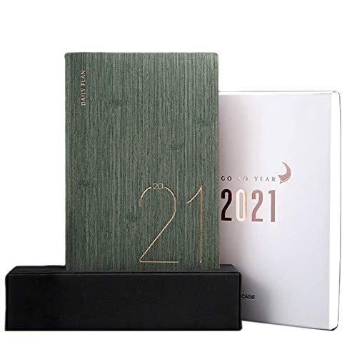 zhichy Planificador organizador A5 diario diario mensual semanal, cuaderno de notas, agenda de viaje