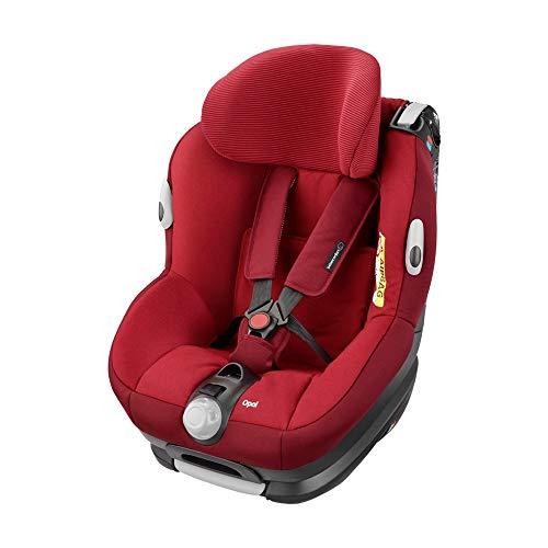 Bébé Confort Opal Silla de coche bebé, a contramarcha o sentido de la marcha, ajustable y reclinable, instalación con cinturón de seguridad, 0 meses - 4 años, 0-18kg, rojo (Robin Red)