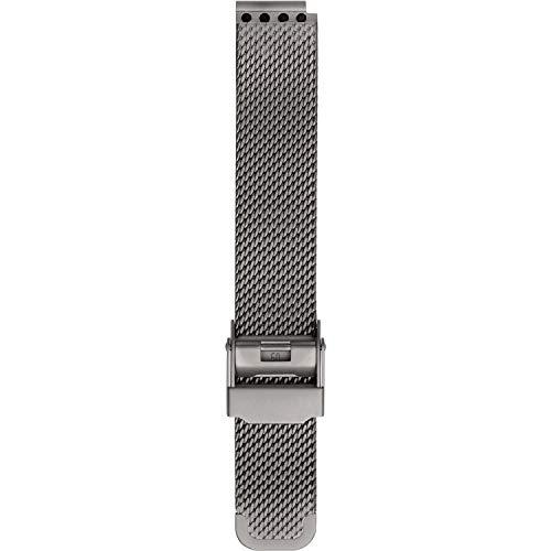 BERING Unisex Erwachsene Edelstahl Uhrenarmband PT-15531-BMTX