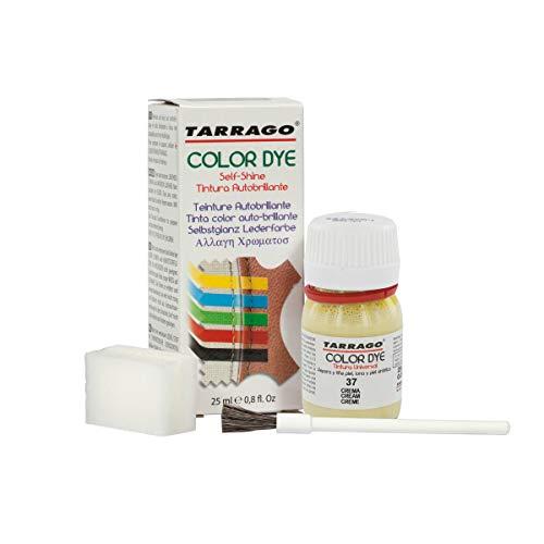 Tarrago Color Dye 25ml, Zapatos y Bolsos Unisex Adulto, Beige (Cream 37), 20 mL