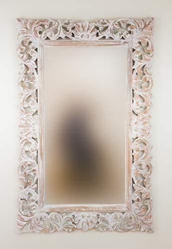 Rococo Espejo Decorativo de Madera Beladona de 90x140cm...
