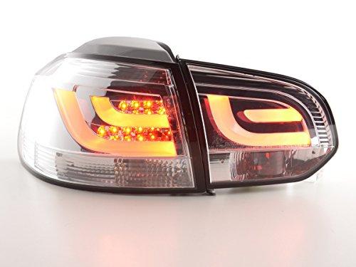 FK Automotive FKRLXLVW13035 Feux arrière LED, Chromée