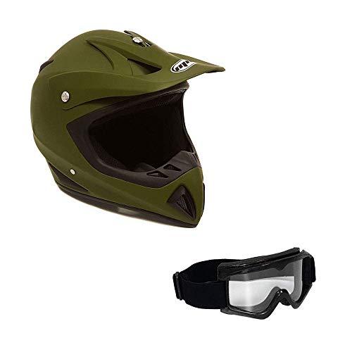 MMG Motorcycle Helmet Off Road MX ATV Dirt Bike Motocross UTV