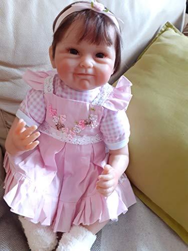 iCradle Bambola Reborn da 18 Pollici RealLife alla Ricerca di Newborn in Silicone Bebe Girls for Child