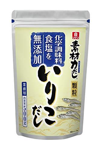 理研ビタミン リケン 素材力 いりこだし 顆粒 業務用 500g [0382]
