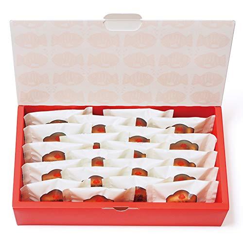 梅林堂 満願成就20匹入《お菓子 和菓子 洋菓子 スイーツ マドレーヌ 焼き菓子 めで鯛 可愛い 埼玉 土産 ギフト 詰合せ 個包装 ブライダル 引き菓子》
