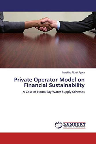 Agwa, M: Private Operator Model on Financial Sustainability