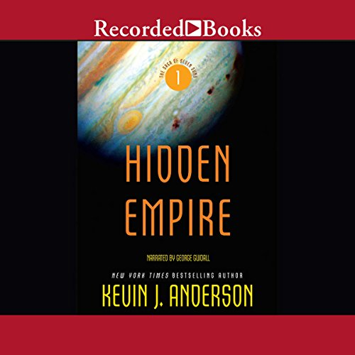 Hidden Empire: The Saga of Seven Suns, Book 1 cover art