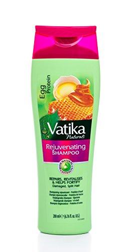Vatika Naturals Egg Protein Rejuvenating Shampoo für geschädigtes Haar 200ml/Split