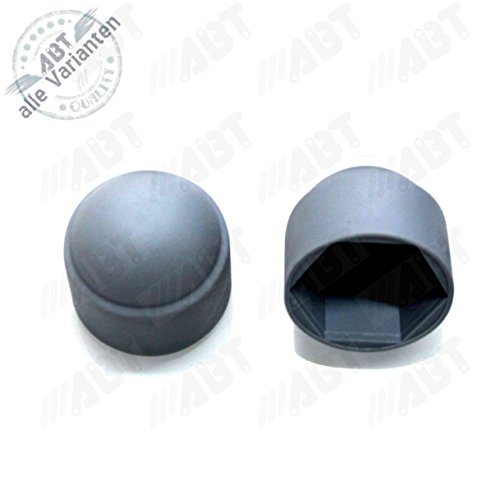 Abdeckkappen M6 für Sechskantschrauben, grau, 100 Stück