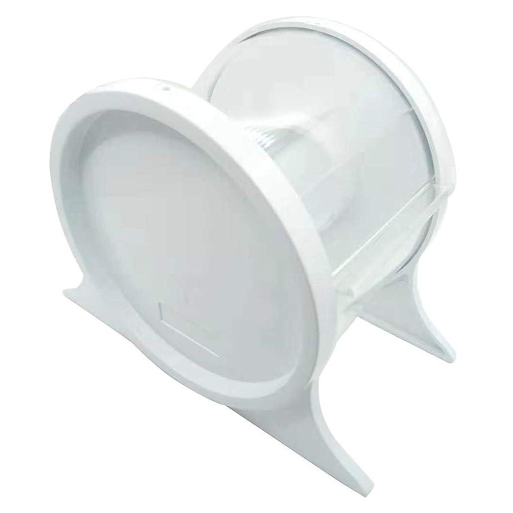 戦略ブルさせるHealifty スタンドホルダーシェルフ歯科ツールを保護する使い捨て歯科用バリアフィルムディスペンサー(ホワイト)