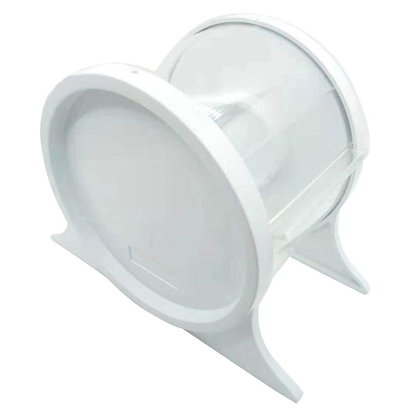 回想検査官くびれたSUPVOX 歯科用バリアフィルムディスペンサー使い捨て保護スタンドホルダーシェルフ歯科用ツール1本(ホワイト)