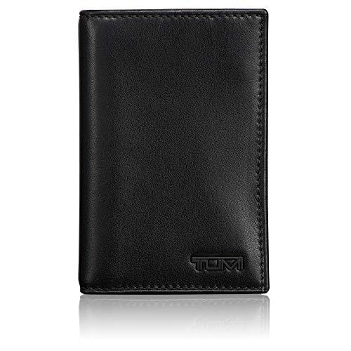 TUMI - Delta Multi Window Card Case Wallet with RFID ID Lock for Men - Black