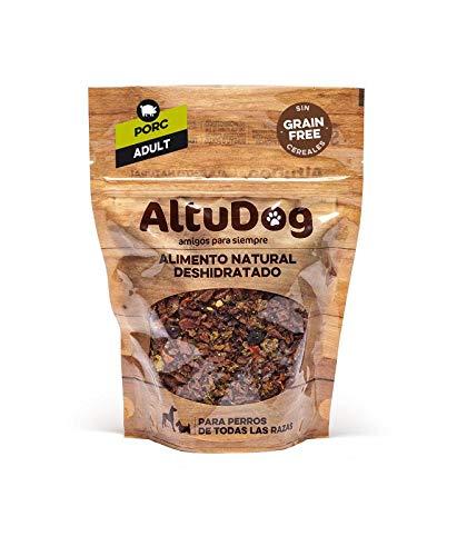 ALTUDOG Alimento Natural deshidratado para Perros Adultos Cerdo SIN Cereales Adult 250g - Comida Natural para Perros (10x250g)