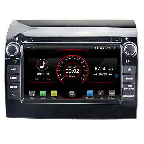 Autosion - Reproductor de DVD para Coche Android 9.0, GPS estéreo, Radio Navi, Multimedia, WiFi, para Fiat Ducato/Peugeot Boxer/Citroen Jumper, Control de Volante, Color Negro