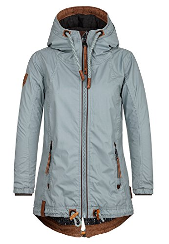 Naketano Damen Jacke Kokosnuss Dreams Jacke, S, aristocrat grey