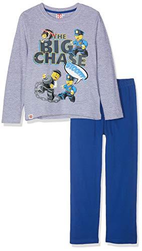 LEGO Jungen 2175 Zweiteiliger Schlafanzug, Grau, 104