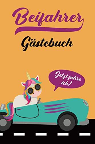 Führerschein Geschenk: Du suchst ein Geschenk zur Fahrprüfung nach der bestandenen Theorieprüfung dann ist dieses Beifahrer Gästebuch für alle ... eine tolle Geschenkidee zum Führerschein
