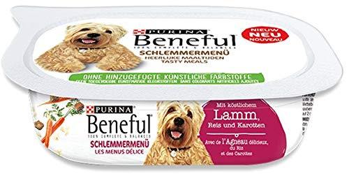 Beneful Schlemmermenü Lamm   6X 200g Hundefutter Nass
