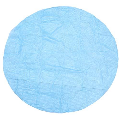 Garneck Solar Poolabdeckung Rund Einfach zu Setzen Und Rahmen Pools über Dem Boden Rund Aufblasbare Poolabdeckung Schutz (Blau Rund Stil Durchmesser 152 cm)