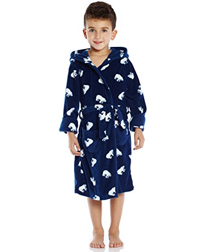 Fleece Sleep Robe Polar Bear 8 Years