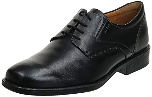 Geox U FEDERICO V, Scarpe Oxford Uomo, Nero (Black C9999), 42 EU