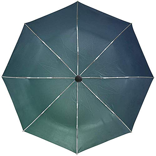 Automatische Regenschirm-Beschaffenheits-Blaue gelbe Reise bequemes winddichtes wasserdichtes faltendes Auto öffnen Sich nah