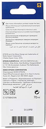 Epson T6642 cartucho de tinta Cian - Cartucho de tinta para impresoras (Original, Cian, 1 pieza(s), Epson L100/L110/L200/L300/L355/L550)