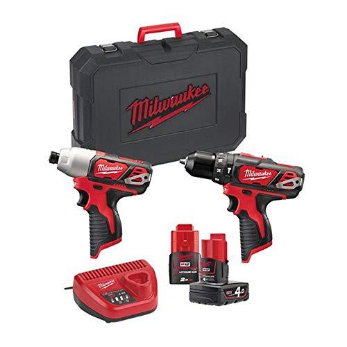 Milwaukee 4933443497 Kit 12 V BDD + M12 Bid 4,0Ah, 1 Batería Ah