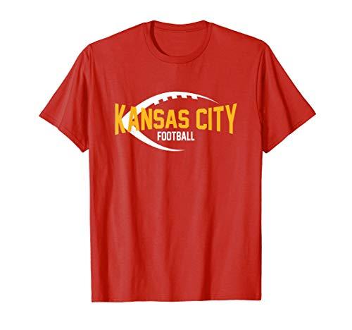Kansas City Football Endzone T-Shir…