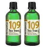 Naissance Aceite Esencial de Árbol de Té BIO n. º 109 – 200ml (2x100ml) - 100% Puro, vegano,...