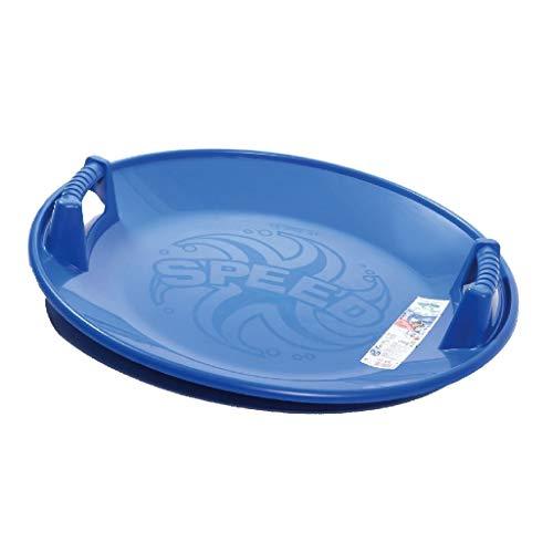 Prosperplast Speed Rutscher Teller-Schlitten Kunststoff -18 °C (Blau)
