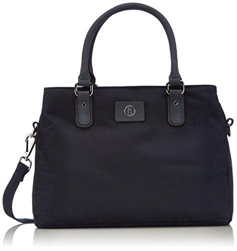 Bogner Leather Salvador, Borsa Shopper Donna, Blu (True Navy 328), 33x23x14 cm (B x H x T)