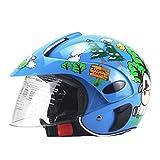 Yeyll Casco de bicicleta para niños, casco de moto para niños, casco...