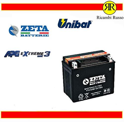BATTERIA 12V 10AH 180A YTX12-BS AGM MF ADLY CROSS X OVER 150 2007-2008 POS. SX