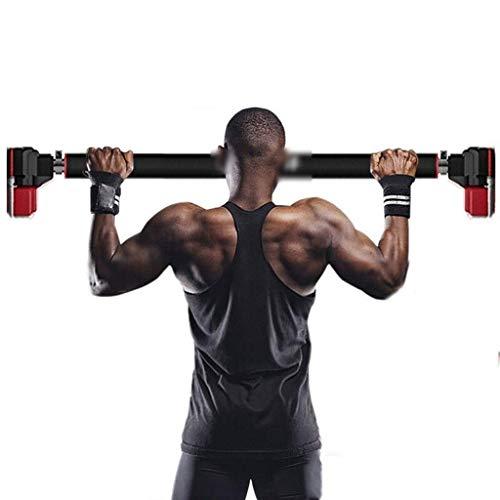 Barra de dominadas para el hogar y el interior, multifunción, para el marco de la puerta, entrenamiento muscular y parte superior del cuerpo,
