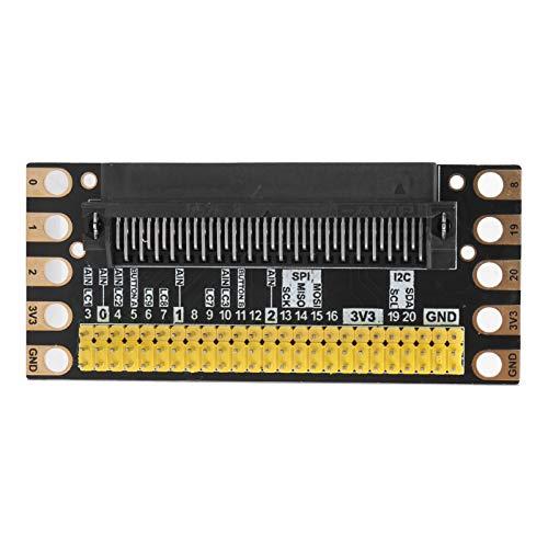 Breakout Board für Micro: Bit 2,54 mm Pitch Pin Header-Schnittstelle Externes Erweiterungsboard PCB-Modul für Experiment, Test, DIY, 3,2 x 1,4 Zoll